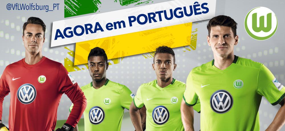 VfL Wolfsburg se aproxima do Brasil com perfil em português no Twitter