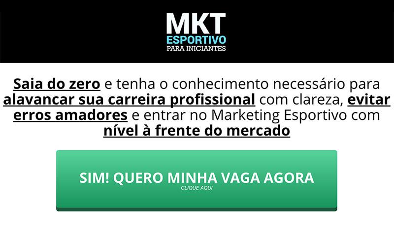 Curso Online MKT Esportivo para Iniciantes