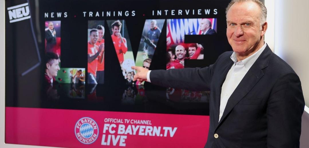 Bayern de Munique lança FC Bayern.tv live, o seu canal de Tv oficial