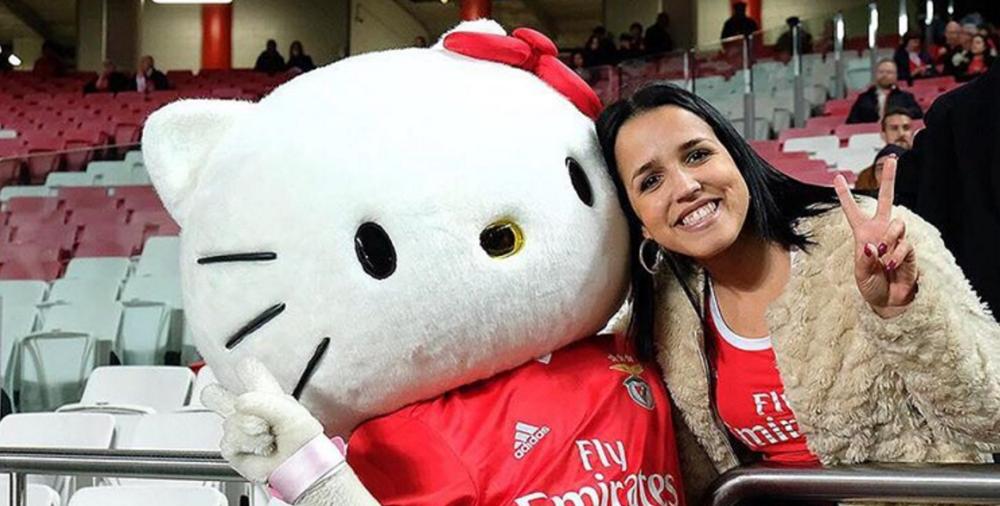 Benfica fecha parceria de merchandising com a Hello Kitty