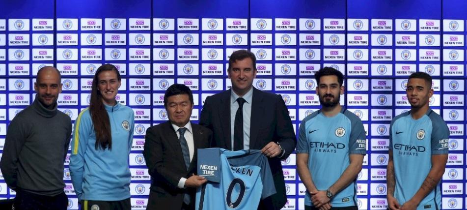 Manchester City torna-se o primeiro clube da Premier League a fechar patrocínio para manga