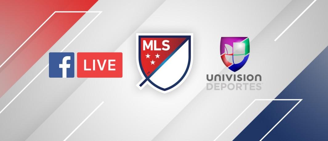 Univision Deportes transmitirá partidas da Major League Soccer no Facebook