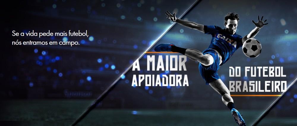 Com investimento no futebol, CAIXA figura em ranking das marcas mais influentes do Brasil