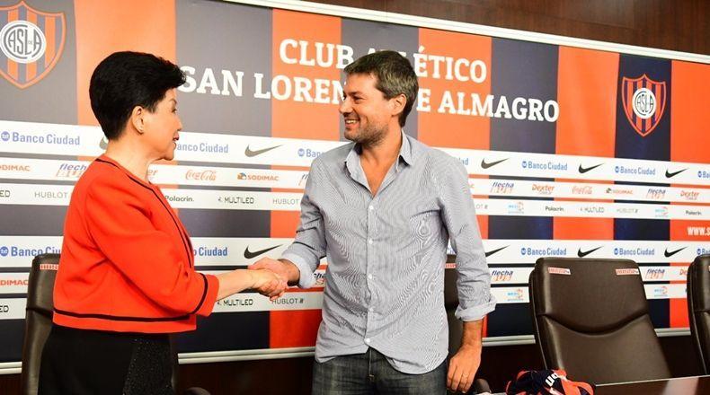 Por mercado chinês, San Lorenzo firma parceria com a Beijing Football Association