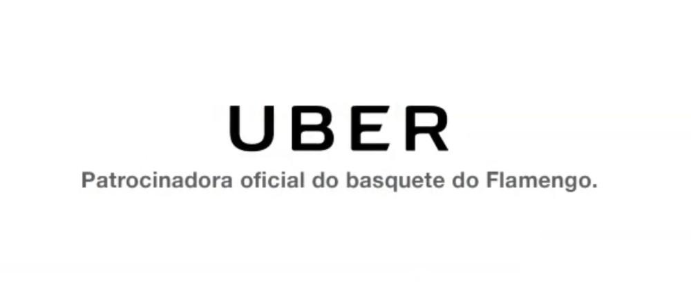 Uber é a nova patrocinadora do basquete do Flamengo
