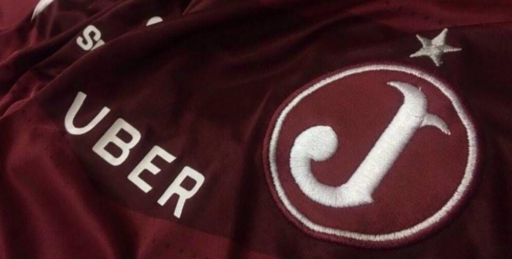 Com exposição na camisa, Uber é a nova patrocinadora do Juventus