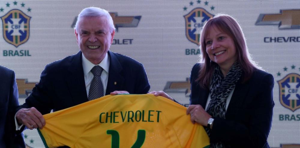 Chevrolet não renova acordo e deixa de patrocinar a CBF
