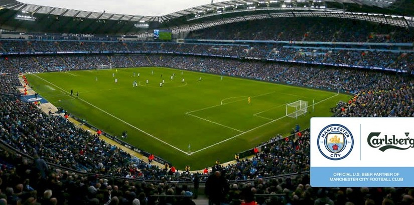 Manchester City terá a Carlsberg para o mercado norte-americano