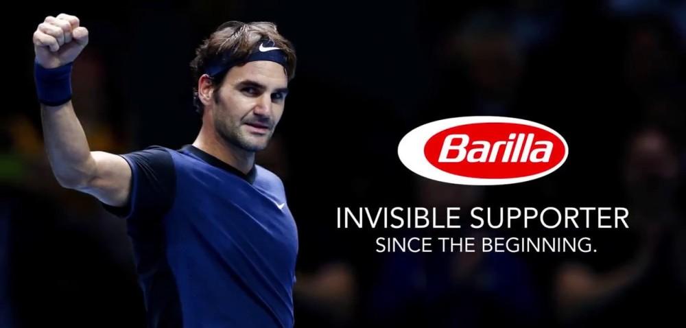 Roger Federer é o novo embaixador global da Barilla