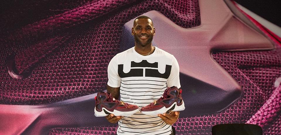 As assinaturas de calçados mais vendidas da NBA