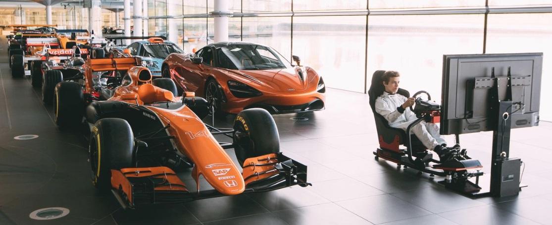 McLaren torna-se a primeira equipe de Fórmula 1 a entrar no eSports