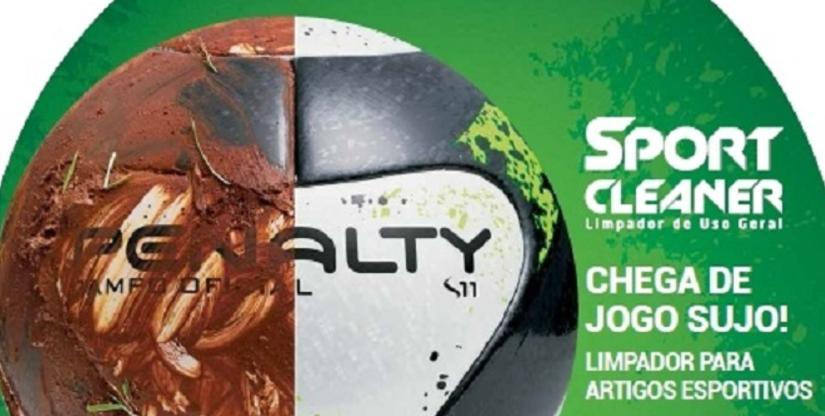 Penalty lança novo produto para limpar material esportivo