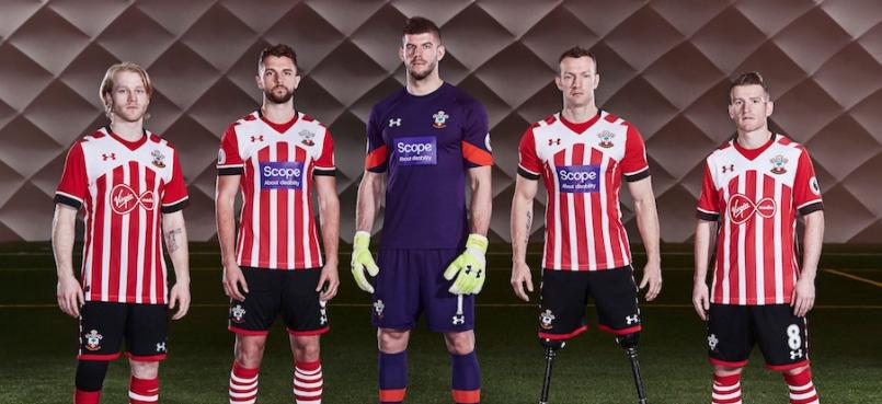 Virgin Media deixará camisa do Southampton por uma boa causa