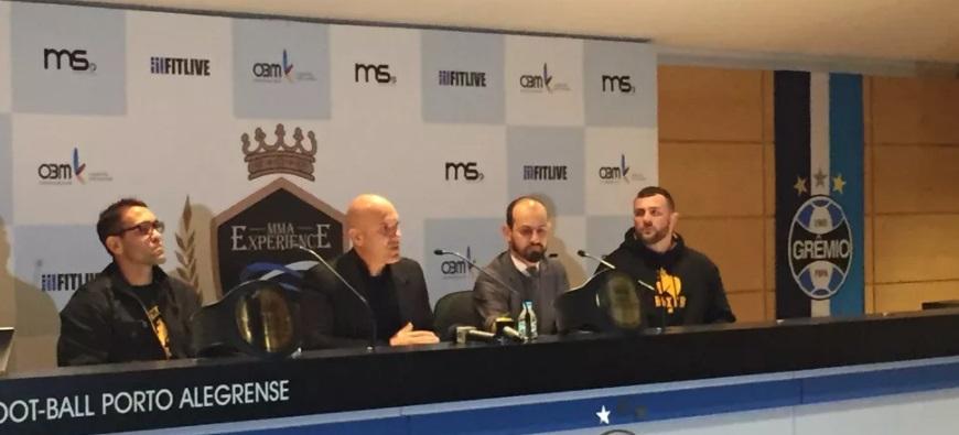 Pela primeira vez, Arena do Grêmio receberá evento de MMA