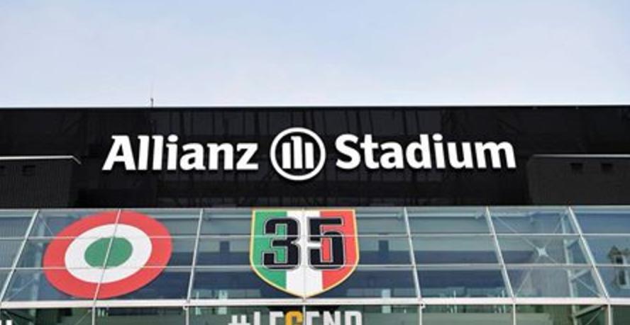 Com Juventus Stadium, Allianz amplia naming rights no futebol