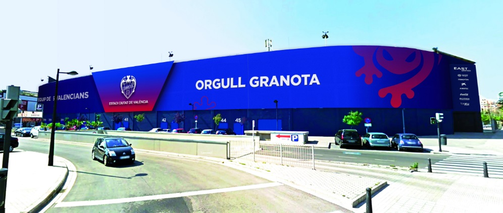 Na elite em 17/18, Levante acelera modernização do Ciutat de València