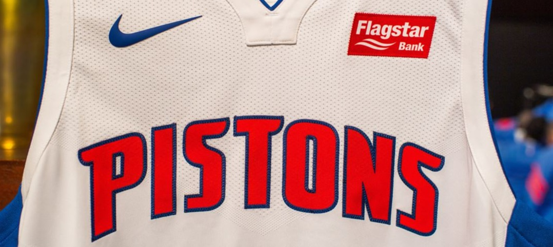 Detroit Pistons torna-se a 10ª equipe da NBA a fechar patrocínio para a camisa
