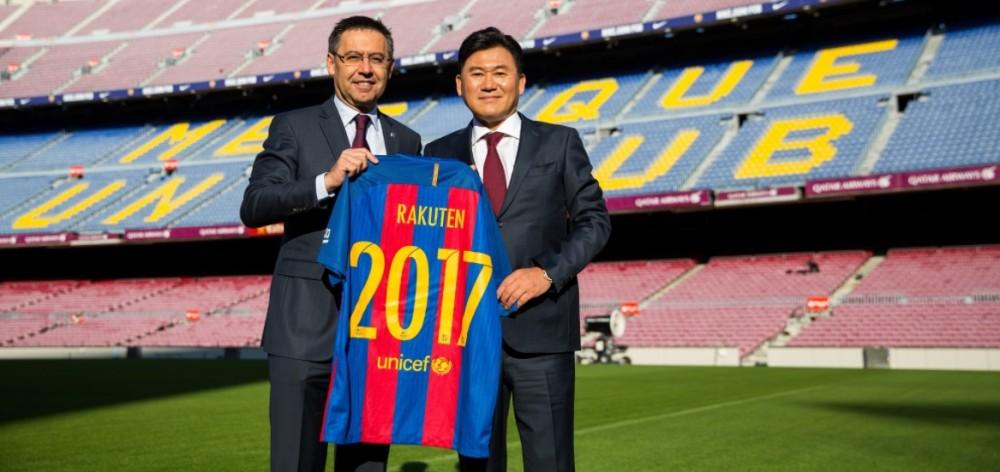 Tecnologia, Ásia e Big Data: os planos da Rakuten no FC Barcelona