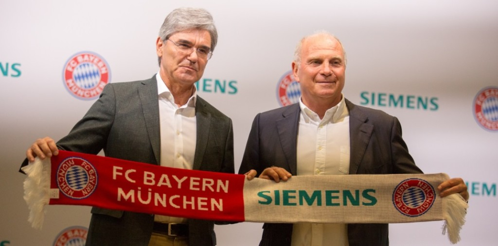 Bayern de Munique e Siemens fecham parceria de olho na experiência do torcedor