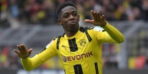 Com venda de Dembélé, ações do Borussia Dortmund sobem na bolsa de Frankfurt