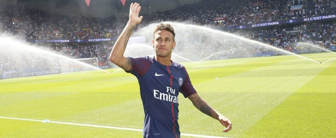 Os recordes de Neymar nas redes sociais do Paris Saint-Germain