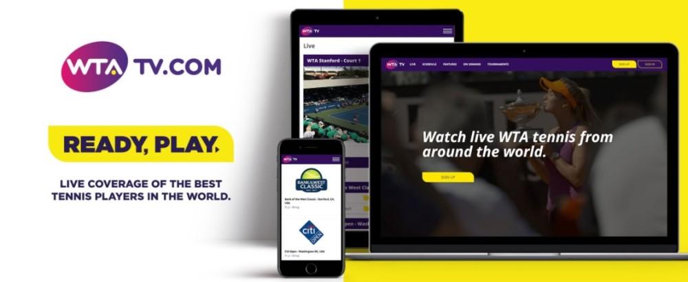 ATP lança plataforma de streaming para a WTA