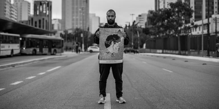 Para lançar PureBOOST DPR, adidas leva arte para as ruas de São Paulo