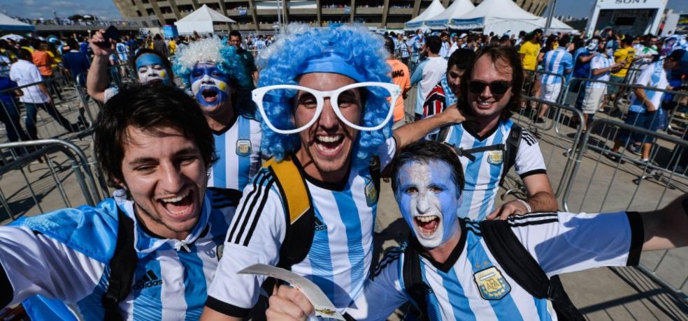 Na América do Sul, argentinos lideram pedidos por ingressos da Copa de 2018