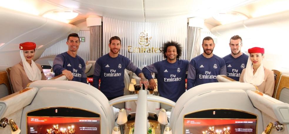 Real Madrid prepara renovação recorde com a Emirates