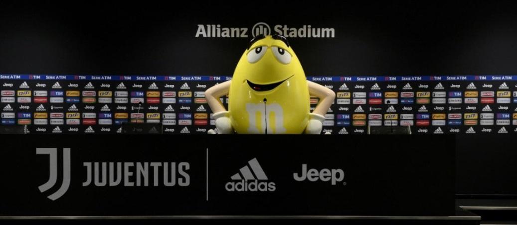 Por inovação e experiências, Juventus fecha parceria com M & M's