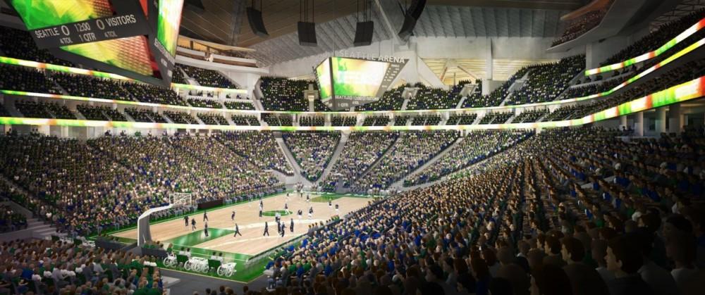 Seattle modernizará arena e aguarda retorno do Supersonics