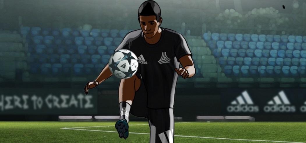 Fiel ao seu novo momento, adidas lança game de futebol no Snapchat