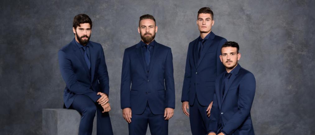 Hugo Boss é a nova parceira de moda da AS Roma