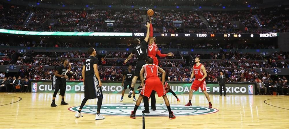 NBA coloca México como alvo para expansão de equipes no futuro