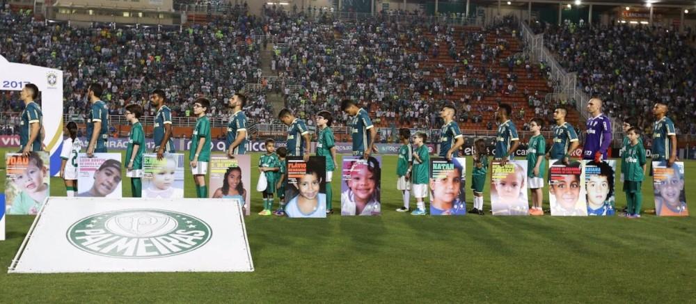 Palmeiras se une a Movimento Mães da Sé na busca por crianças desaparecidas