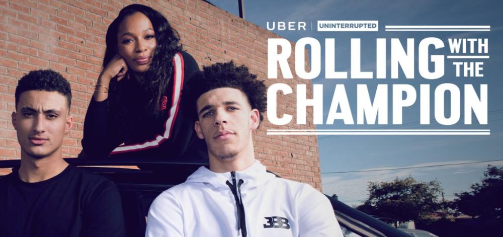 UNINTERRUPTED e Uber se unem em ação publicitária com novatos da NBA