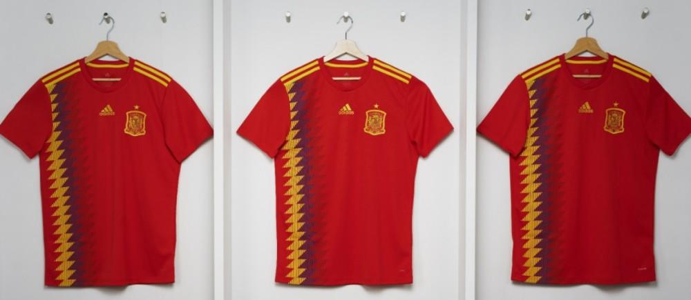 A polêmica envolvendo a camisa da Espanha para a Copa do Mundo de 2018
