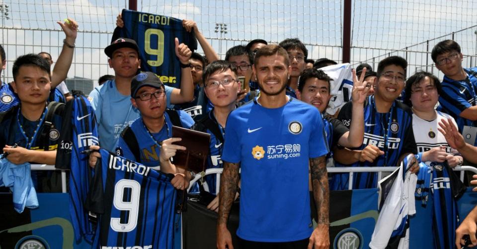 Especial | Mauro Icardi: o pilar de conteúdo da Inter de Milão para crescer na China