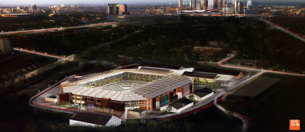 Por vaga na Major League Soccer, Nashville aprova financiamento de novo estádio