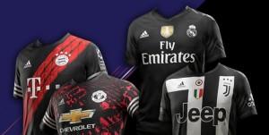 Adidas lança uniformes virtuais que estarão apenas no FIFA 18