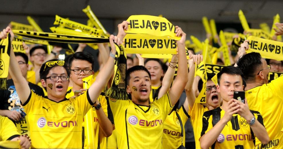 Os esforços do Borussia Dortmund para conquistar o mercado chinês