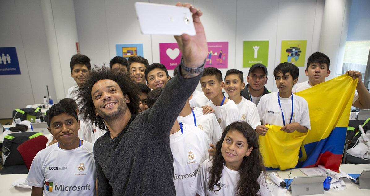O sonho de ajudar crianças que une Marcelo e Microsoft há três anos