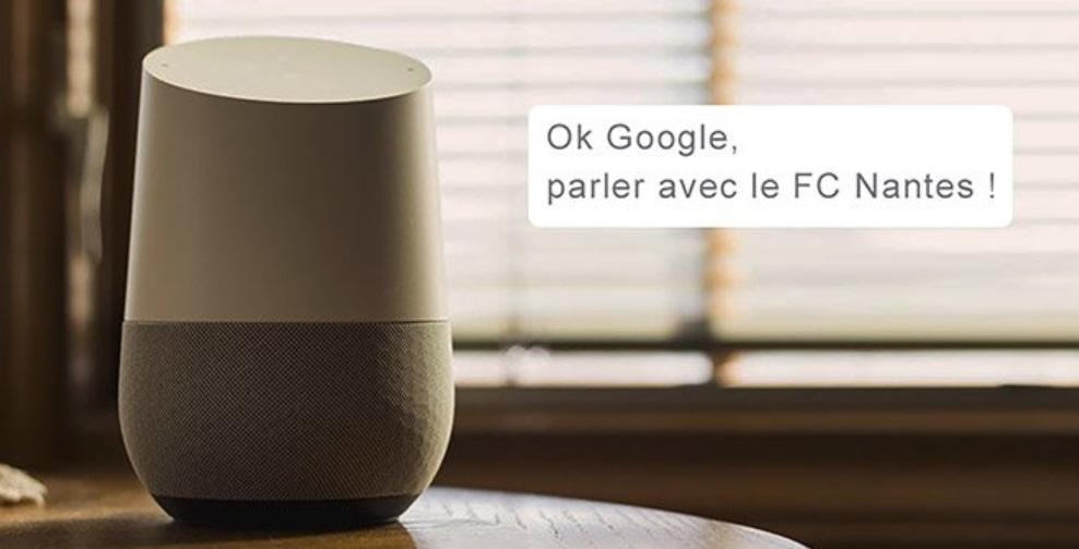 Pioneiro na França, Nantes oferece conteúdo aos fãs através do Google Assistant