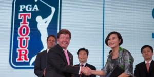 Empresa de Yao Ming traz série do PGA Tour para a China