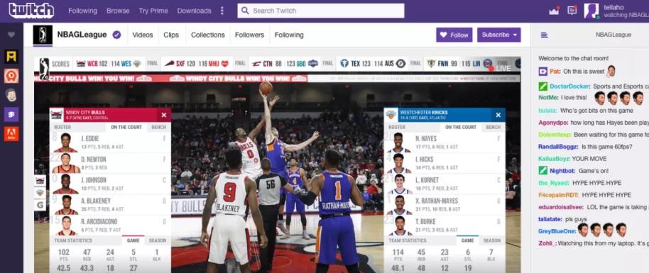 NBA digitaliza transmissões e fecha parceria com Twitch