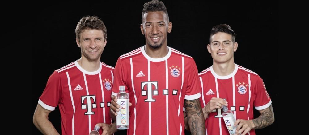 Bayern de Munique terá OXiGEN como água oficial