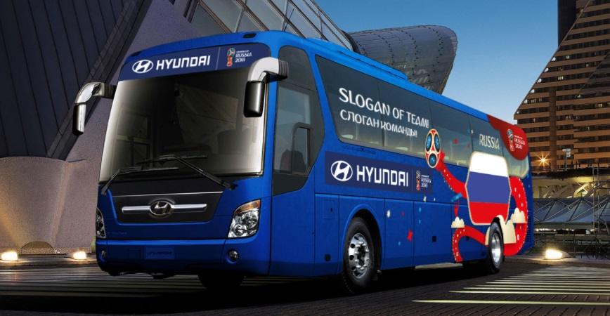 Com 'Be There With Hyundai', Hyundai garante uma das mais globais ativações da Copa
