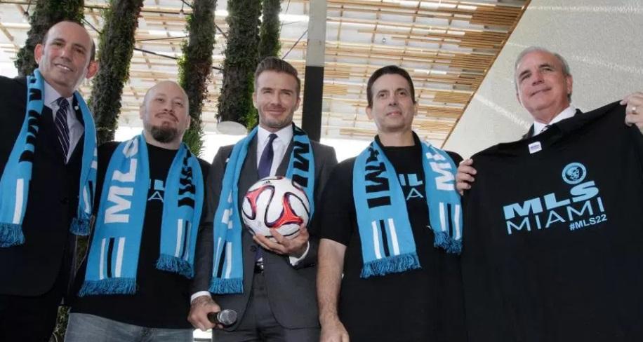Aprovado pela MLS, David Beckham apresentará sua equipe