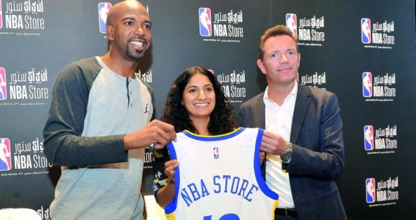 NBA inaugura sua primeira loja no Oriente Médio