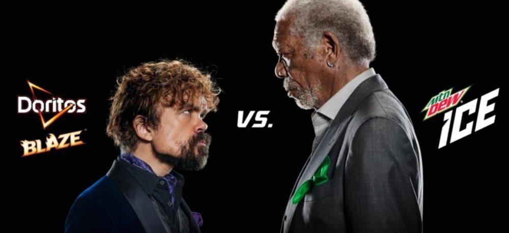Morgan Freeman e Peter Dinklage serão as estrelas da Pepsico para o Super Bowl LII